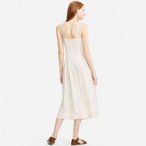 c58c84a11d7f6 Uniqlo Dresses | Idlf Rayon Slip Dress Red Dot | Poshmark